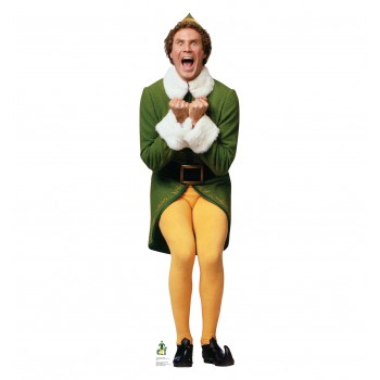 Elf Excited - Will Ferrell (Elf) Cardboard Cutout