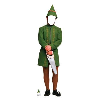 Male Elf Standin - (Elf) Cardboard Cutout - $39.95