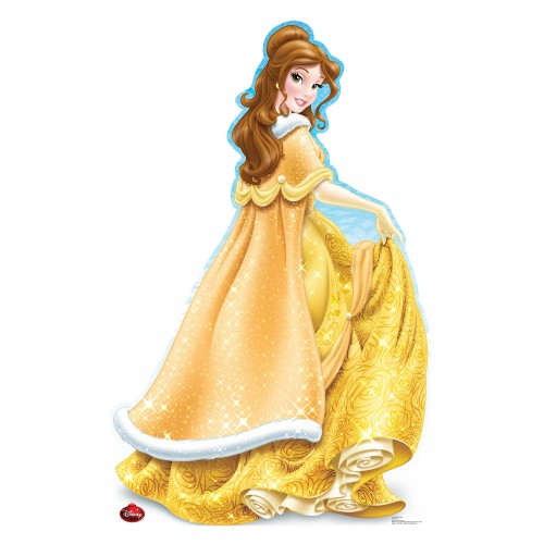 Belle Holiday Limited Edition Cardboard Cutout