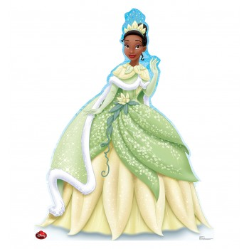 Tiana Holiday Limited Edition Cardboard Cutout
