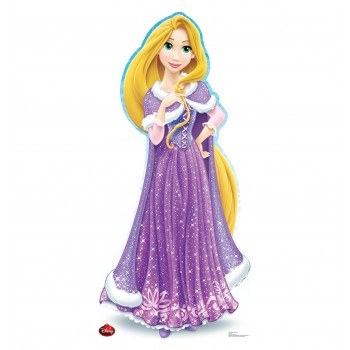 Rapunzel Holiday Limited Edition Cardboard Cutout