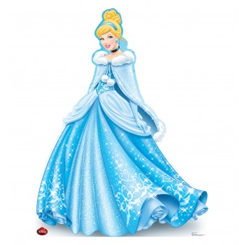 Cinderella Holiday Limited Edition Cardboard Cutout