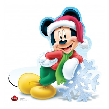 Mickey Mouse Holiday Limited Edition Cardboard Cutout - $39.95