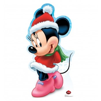 Minnie Mouse Holiday Limited Edition Cardboard Cutout - $39.95