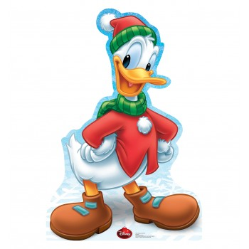 Donald Duck Holiday Limited Edition Cardboard Cutout - $39.95