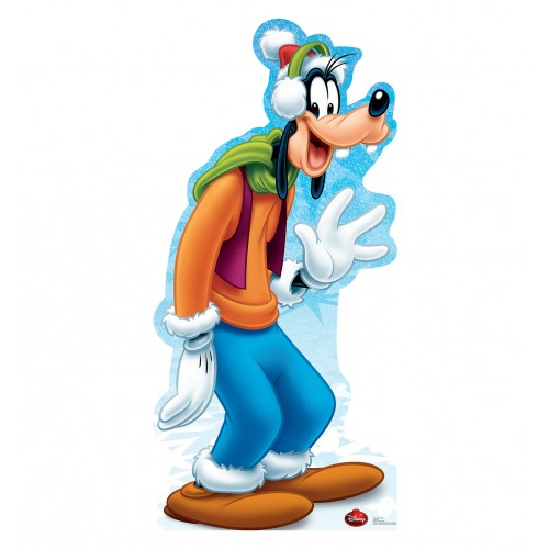 Goofy Holiday Disney Limited Edition Cardboard Cutout