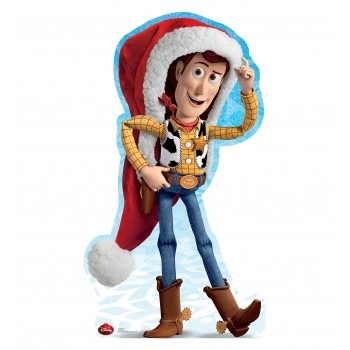 Woody Holiday Disney Limited Edition Cardboard Cutout - $39.95