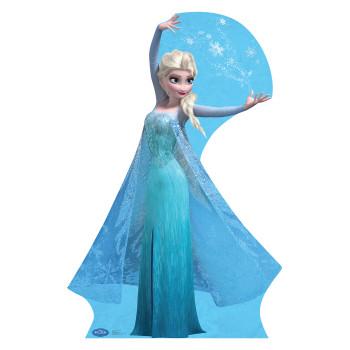 Elsa 2 Snow Flakes Disney s Frozen Cardboard Cutout