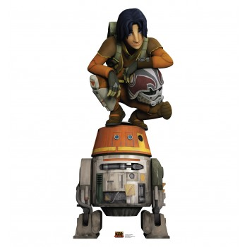 Ezra and Chopper (Star Wars Rebels) Cardboard Cutout - $39.95