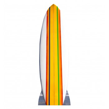 Surf Board Cardboard Cutout - $39.95