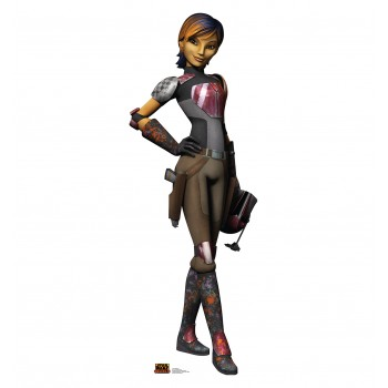 Sabine Wren (Star Wars Rebels) Cardboard Cutout - $39.95