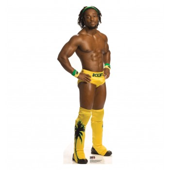 Kofi Kingston WWE Cardboard Cutout - $39.95