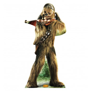 Chewbacca Star Wars (Retouched) Cardboard Cutout