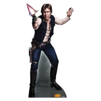 Han Solo Star Wars (Retouched) Cardboard Cutout - $39.95