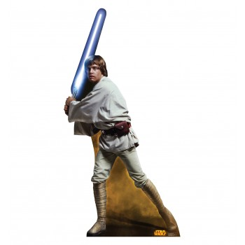 Luke Skywalker Star Wars (Retouched) Cardboard Cutout - $39.95