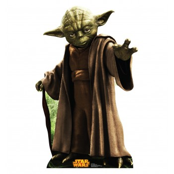 Yoda Star Wars (Retouched) Cardboard Cutout - $39.95