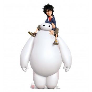 Baymax and Hiro (Disney s Big Hero 6) Cardboard Cutout