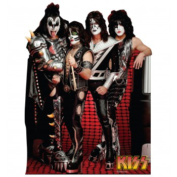 KISS Group Cardboard Cutout - $39.95
