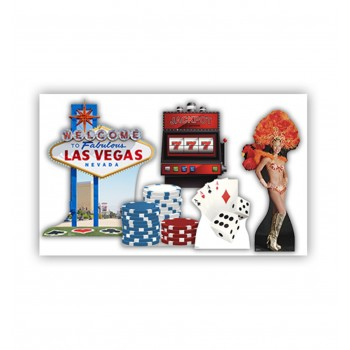 Vegas Party Theme Set Cardboard Cutout - $99.95