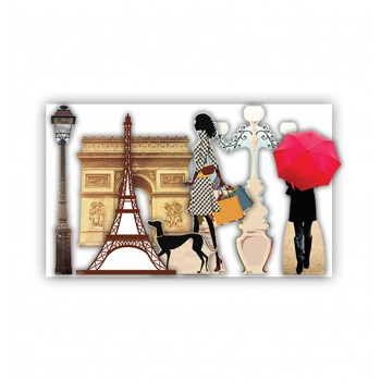 Paris Party Theme Set Cardboard Cutout - $109.95