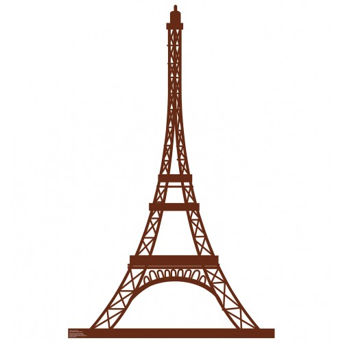Paris Eiffel Tower Cardboard Cutout