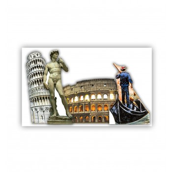 Italy Party Theme Set Cardboard Cutout - $111.95