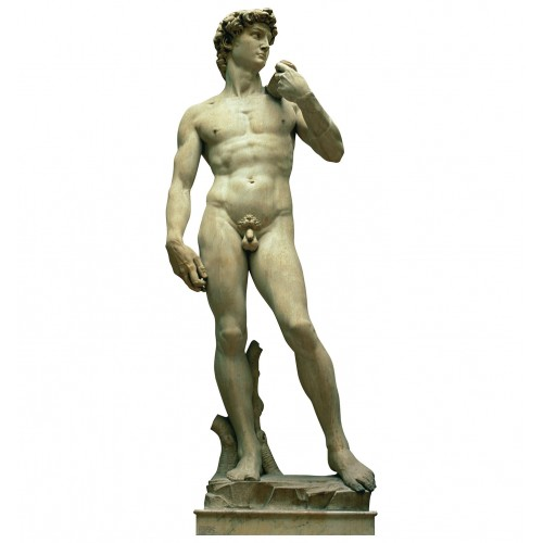 Italy Statue of David Cardboard Cutout