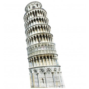 Italy Leaning Tower of Pisa Cardboard Cutout - $39.95