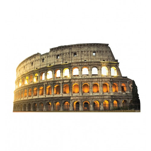 Italy Colosseum Cardboard Cutout