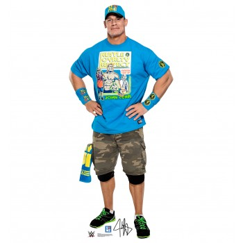 John Cena Light Blue Shirt - WWE Cardboard Cutout - $39.95