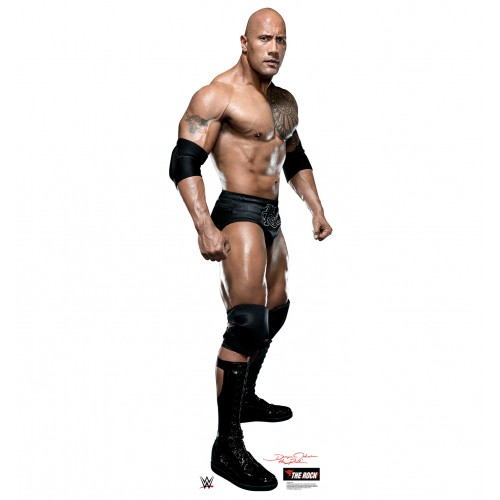 The Rock - WWE Cardboard Cutout