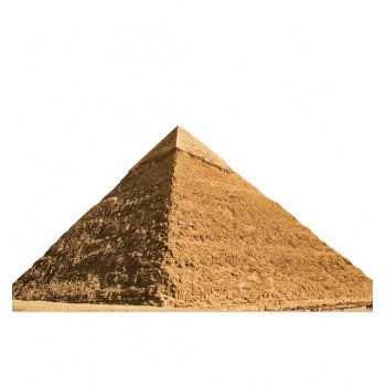 Egyptian Pyramid of Chephren Cardboard Cutout - $39.95