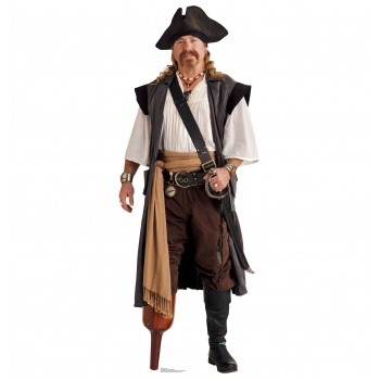 Pirate Peg Leg Cardboard Cutout - $39.95