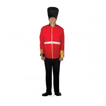 British Royal Guard Cardboard Cutout