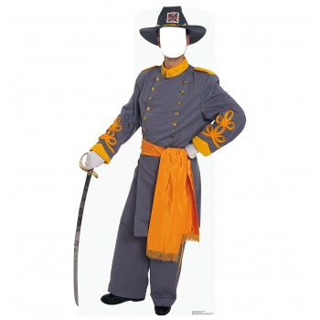 Confederate Civil War Soldier Standin Cardboard Cutout - $39.95
