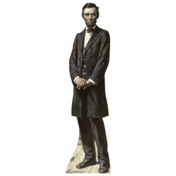 President Lincoln The Gettysburg Address Cardboard Cutout - $39.95