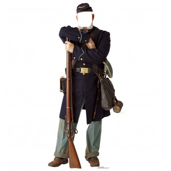 Union Civil War Soldier Standin Cardboard Cutout - $39.95