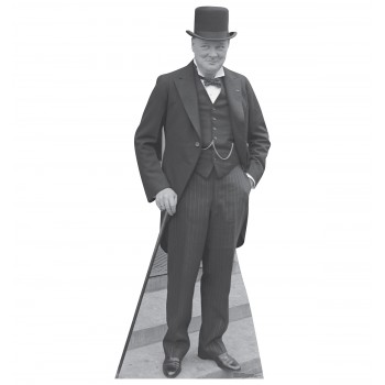 Winston Churchill 1929 Cardboard Cutout - $39.95
