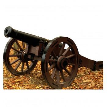 Civil War Cannon Cardboard Cutout