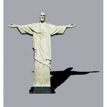 Christ the Redeemer Statue - Brazil Cardboard Cutout