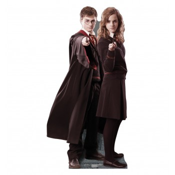 Harry, and Hermione Harry Potter Cardboard Cutout - $39.95