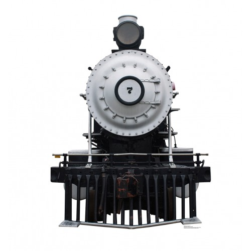 Steam Locomotive #7 Cardboard Cutout