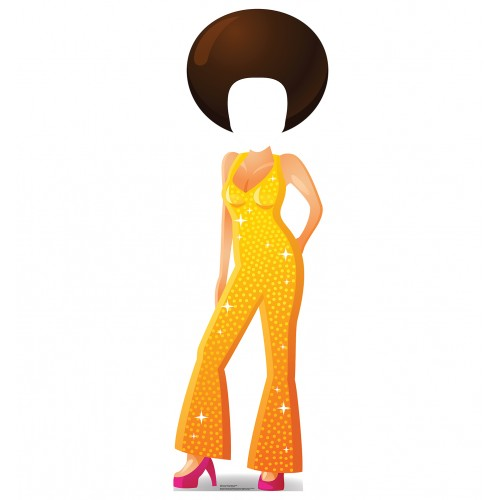 Cartoon Disco Dancer Standin