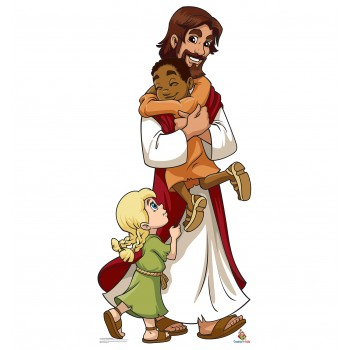 Jesus with Children (Creative for Kids) Cardboard Cutout - $39.95