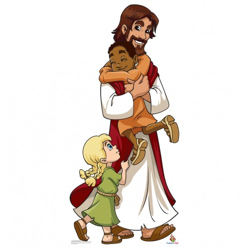 Jesus with Children (Creative for Kids) Cardboard Cutout