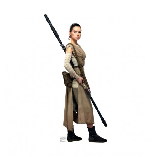 Rey (Star Wars VII: The Force Awakens) Cardboard Cutout