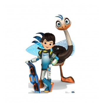 Miles and MERC (Disneys Miles from Tomorrowland) Cardboard Cutout - $39.95