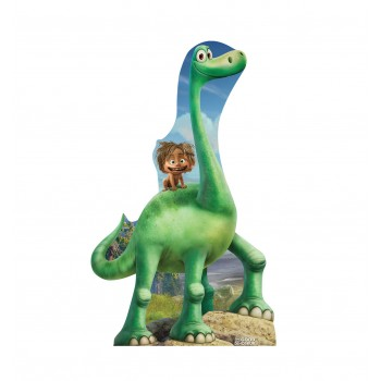 Arlo  and  Spot (Disney/Pixars The Good Dinosaur) Cardboard Cutout