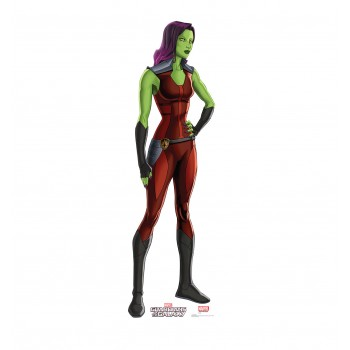 Gamora (Animated Guardians of the Galaxy) Cardboard Cutout