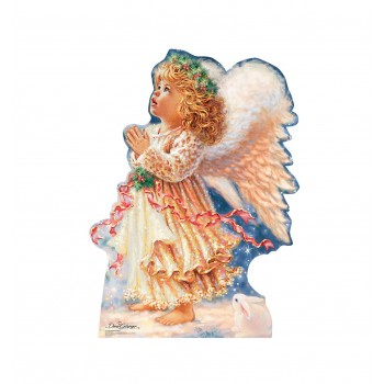 Little Christmas Angel (Dona Gelsinger Art) Cardboard Cutout - $39.95